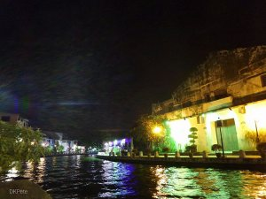 River Night View